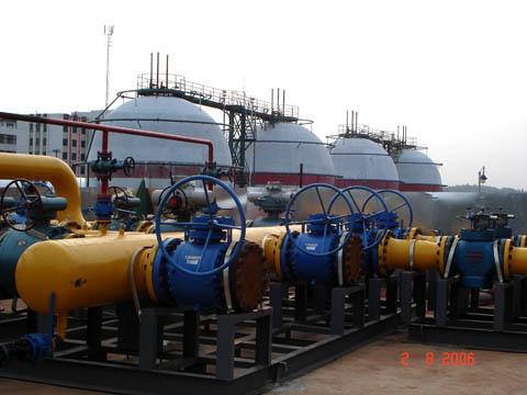 湘衡天然气管线衡阳站安装工程
